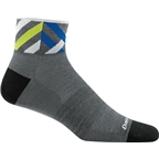 Darn Tough Graphic 1/4 Ultra Light Men's Sock: Gray