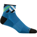 Darn Tough Graphic 1/4 Ultra Light Men's Sock: Marine