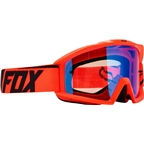Fox Racing Main Goggle: Race Orange One Size
