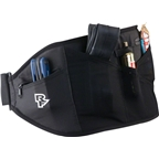 Race Face Rip Strip Storage Lumbar Belt: Black One Size