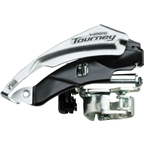 Shimano Tourney TY510 6/7-Speed Triple Top-Swing Dual-Pull Front Derailleur