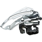 Shimano Tourney TY700 7/8-Speed Triple Top-Swing Dual-Pull Front Derailleur