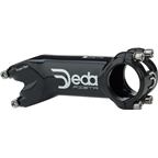 Deda Elementi Pista Stem: 100mm +/- 20 Degree Black Polish