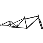 Surly Big Dummy Frameset Blacktacular - Large