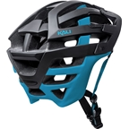 Kali Protectives Interceptor Helmet: Dual Matte Black/Blue SM/MD