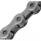 KMC X11e-Turbo eBike Chain: 126 Links, Gray
