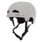 The Shadow Conspiracy Feather Weight In-Mold Helmet: Gloss White LG/XL