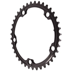 Absolute Black Premium Oval Road Chainring, 5x130BCD 39t - Black