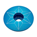 Supacaz Aqua Anodized Star Cap