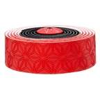 Supacaz Super Sticky Kush Handlebar Tape, Black And Red
