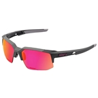 100% Speedcoupe Sunglasses, Graphite - Purple Multi Mirror