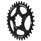 Blackspire Snaggletooth GXP DM Oval Chainring, 32T - Black