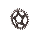 Blackspire Snaggletooth GXP DM Oval Chainring, 30T - Black