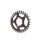 Blackspire Snaggletooth GXP DM Oval Chainring, 28T - Black