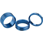 Ciari Anelli 1-1/8 Headset Spacers Blue 5mm 10mm and 15mm Spacer Kit