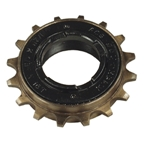 "ACS Southpaw Freewheel, 1/8"" X 14T - Black/Gold"