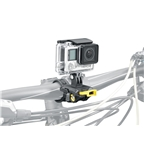Topeak Sport Camera Multi-Mount, Including Handlebar Mount, Helmet Mount, Saddle Rail Mount