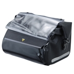 Topeak HandleBar Dry Bag, with new Fixer 8, Black color version