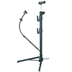 Topeak Transformer RX Compact Floor Pump with Stand &  Travel Bag