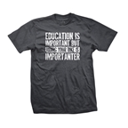 DHDwear Higher Education Tee, Gray