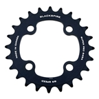 Blackspire Super Pro Chainring 64BCD - 24T Black