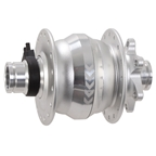 SP (Shutter Precision) PD-8X IS-disc Front T-A Hub, 15x100mm, 32h - Silver