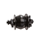 Kasai Dynacoil D6 IS-disc F Q/R Hub, 9x100mm, 32h - Black