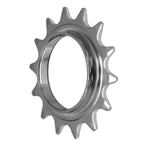 "Gusset 332 Fixed Cog, 3/32"" - 14t, Chrome"
