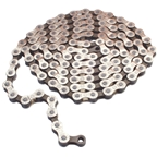 """Gusset GS-8 8sp Chain, 3/32"""" - Silver/brown"""
