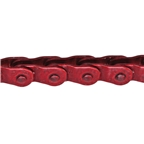 "Gusset Slink Chain, 1/8"" - Translucent Red"