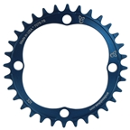 Endless Bike The 1 Chainring, 104BCD 32T - Blue