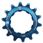 Endless Bike Kick Ass Cog, 14t - Blue Ano