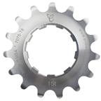 Endless Bike Kick Ass Cog, 15t - Silver Ano