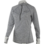 Louis Garneau 4002 Women's Base Layer Top: Heather Gray