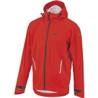 Louis Garneau 4 Seasons Men's Hoodie Jacket: Flame