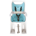 Topeak Babyseat II Seat Pad, Blue color