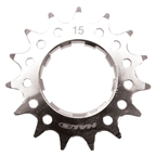 "Halo Fat Foot Cog, 1/8"" - 15t, Chrome"