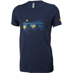 Salsa Overnighter Men's T-Shirt: Blue