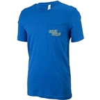 Salsa Logo Pocket Men's T-Shirt: Bright Blue