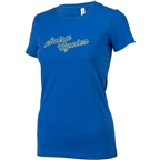 Salsa Outline Logo Women's T-Shirt: Bright Blue