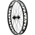 Quality Wheels Fat Front Hope Pro2 FatSno 142mm x 15mm, 150mm x 15mm 32h / Surly Other Brother Darryl Tubeless / Black