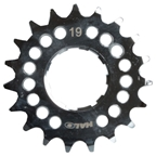 "Halo Fat Foot Cog, 1/8"" - 19t, Chrome"