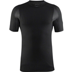 Craft Active Extreme 2.0 Men's Crewneck Short Sleeve Top: Black