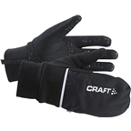 Craft Hybrid Weather Glove: Black