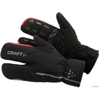 Craft Siberian Split Finger Glove: Black
