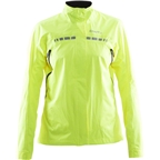Craft Women's Escape Rain Jacket: High Vis