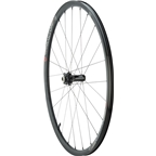Industry Nine AR25 All-Road Disc Wheelset: 700C 15mm Thru-Axle Front, 12 x 142mm Thru Axle Rear, Shimano 11-Speed Road Tubeless  Black