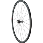 Industry Nine AR25 All-Road Disc Wheelset: 700C, 10mm QR Front, 135mm QR Rear,Shimano 11-Speed Road Freehub, Tubeless, Black