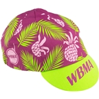 All-City WBMA Cycling Cap: Pink/Green One Size