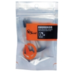 Orange Seal RVC Valve Stem And Core, 32mm Mtn/road - Pair